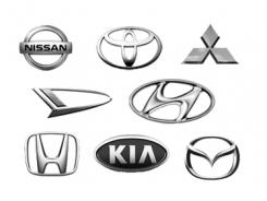 Asian car brands