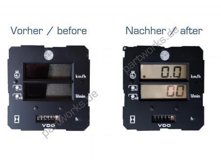 Traktormeter Display Steyr VDO Display