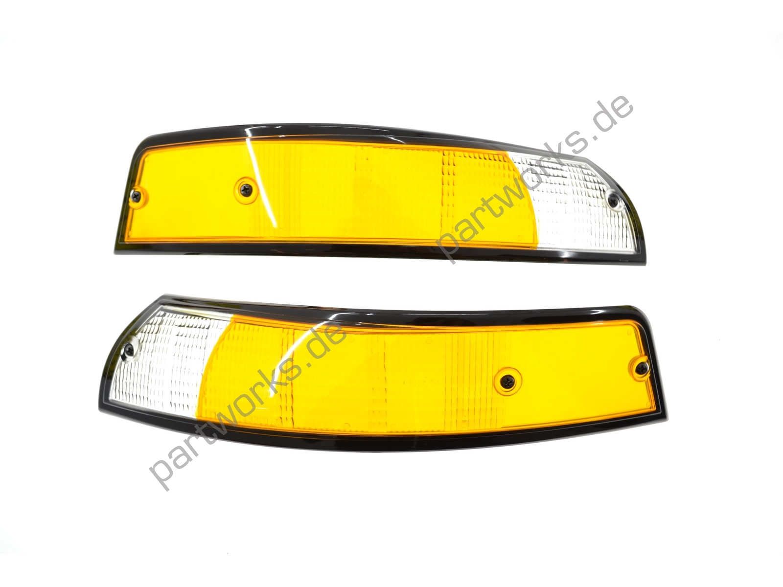 2 front turn signals for Porsche 911 F '69-'73 EU SW