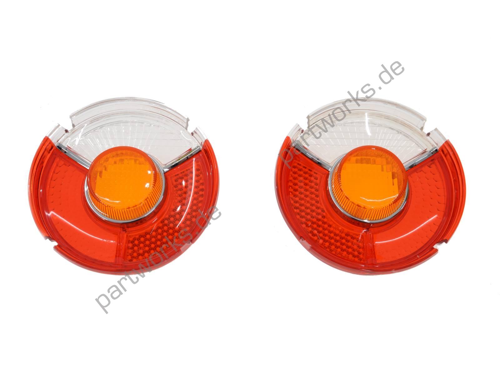 2x Tail Lights For Bmw E10 02er 1502 1602 1802 2002 Eu L R