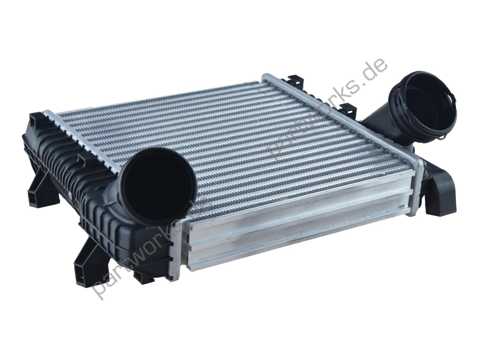 Ladeluftkühler für Porsche Cayenne 955 3.0 Diesel RECHTS