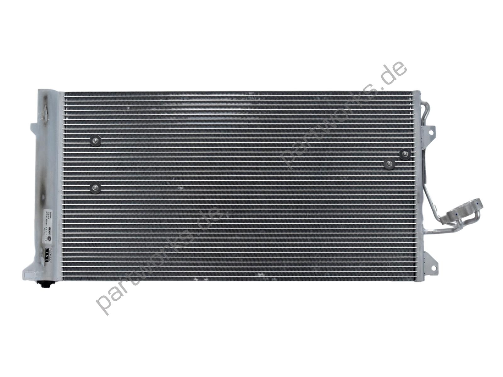 Klimakondensator für Porsche Cayenne 955 957