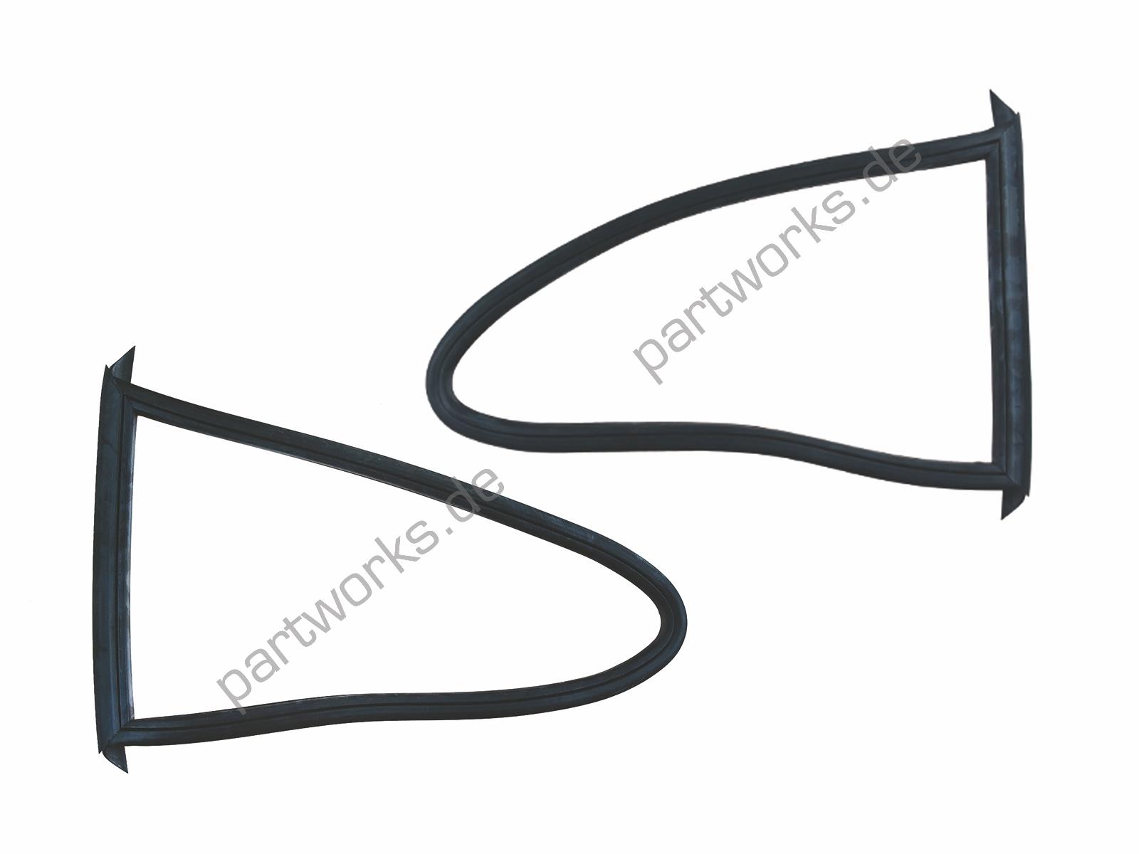 Dichtung Dreiecksfenster für Porsche 911 G 930 Coupé HINTEN L+R