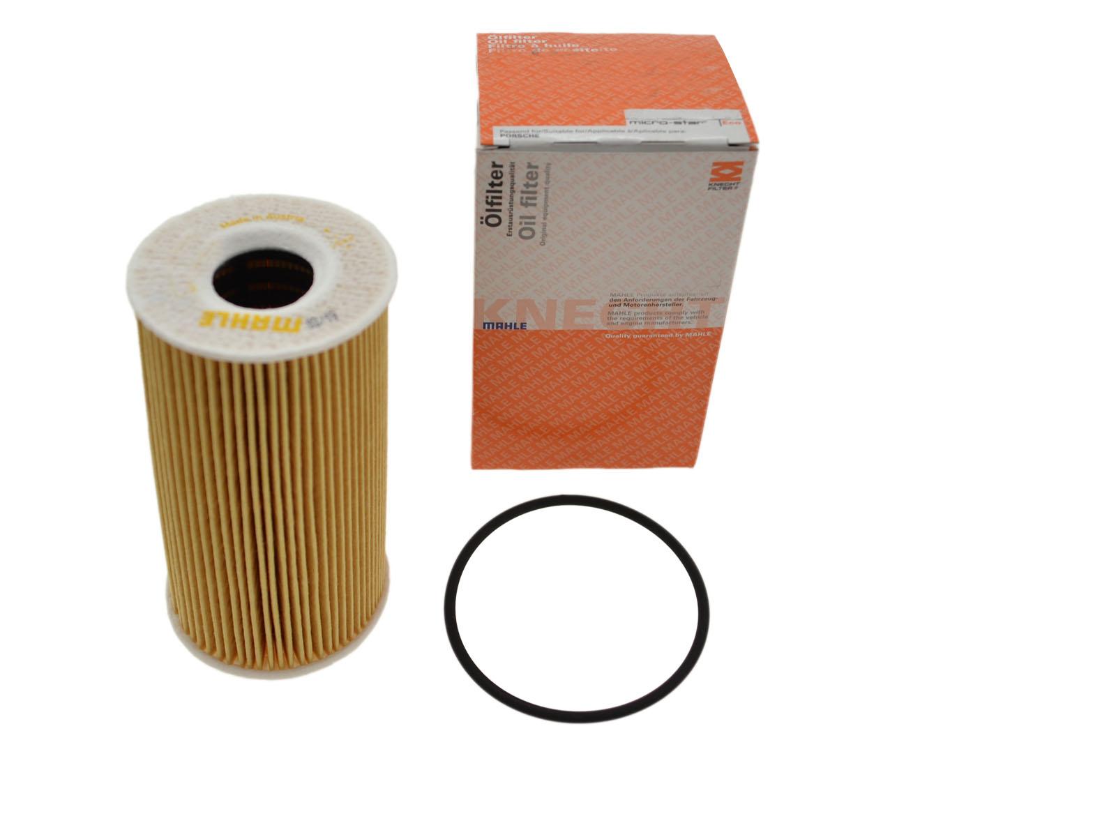 Mahle Filtereinsatz für Porsche 996/986 997/987/c Motor Ölfilter