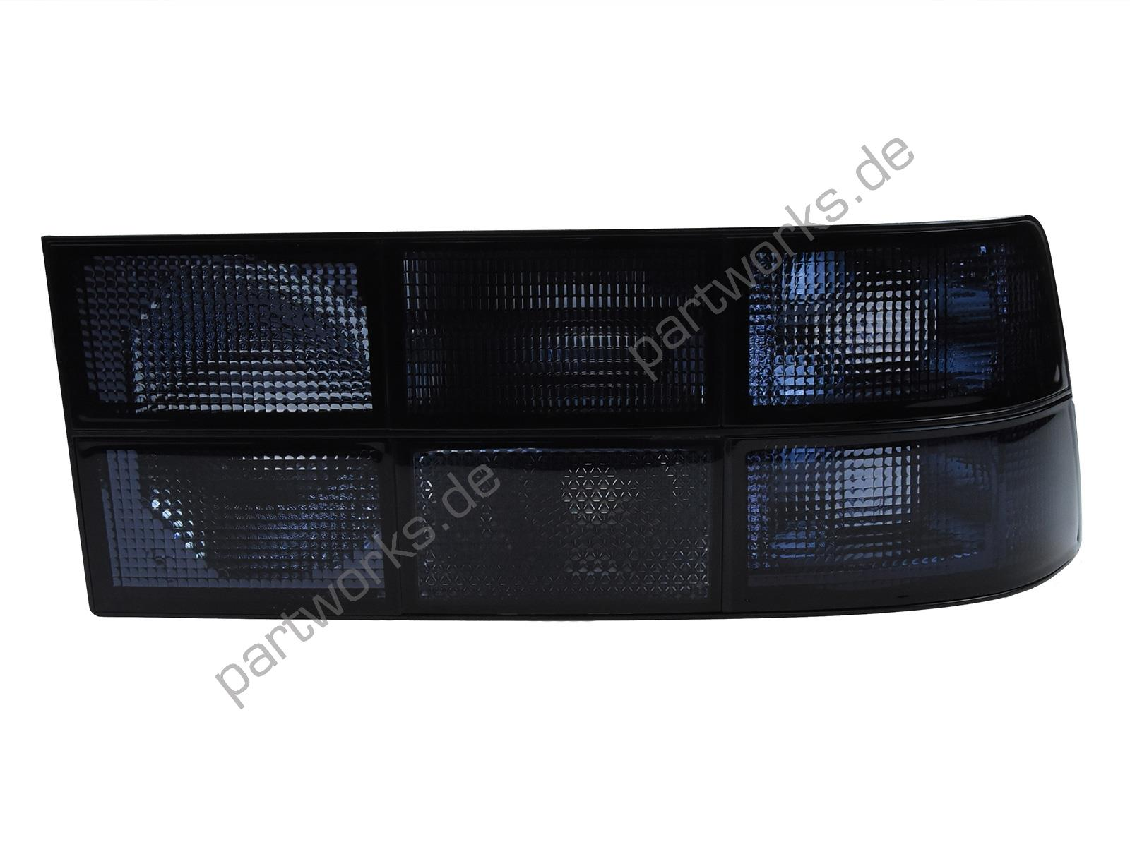 Taillight lens for Porsche 924 944 TINTED LEFT