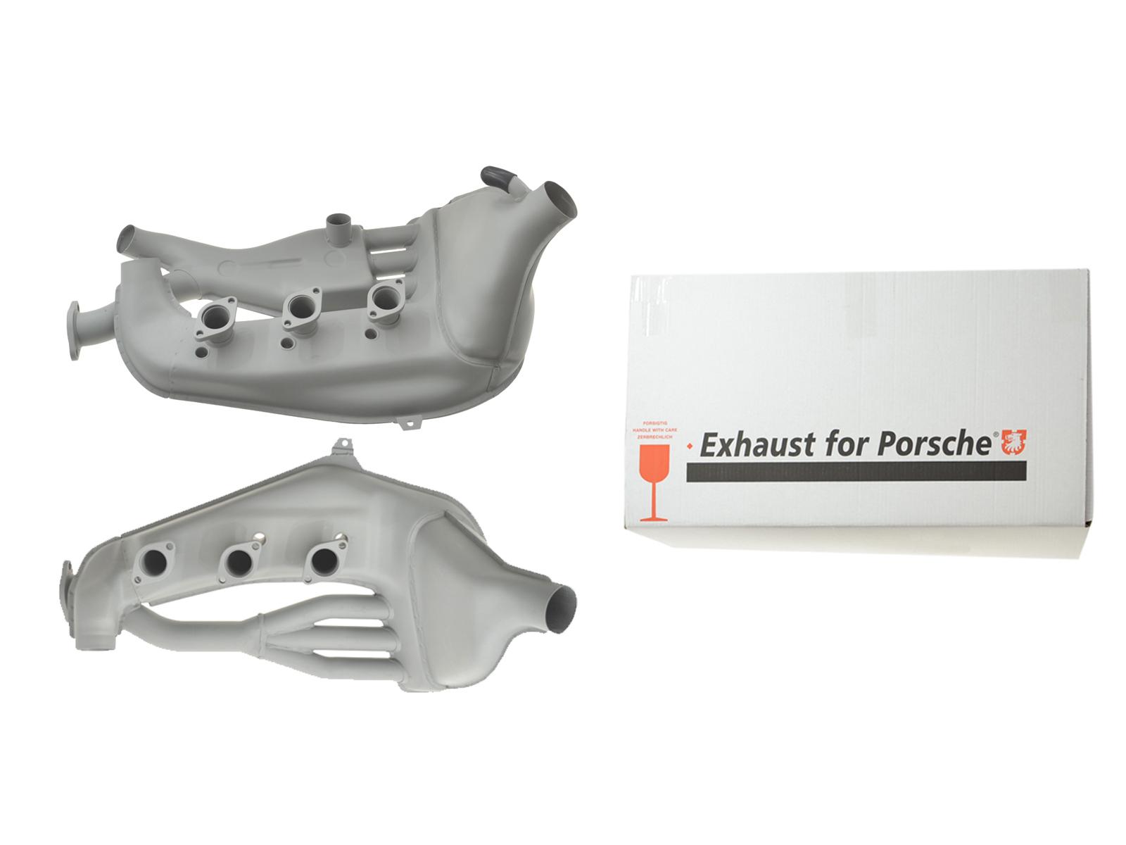 Set Wärmetauscher für Porsche 911 mit MFI 2.4/2.7 STAHL