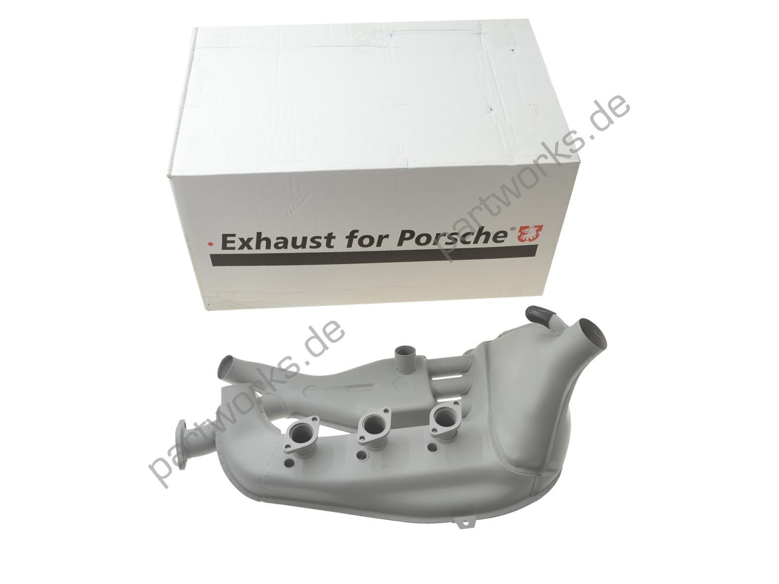 Wärmetauscher für Porsche 911 mit MFI 2.4/2.7 STAHL LINKS