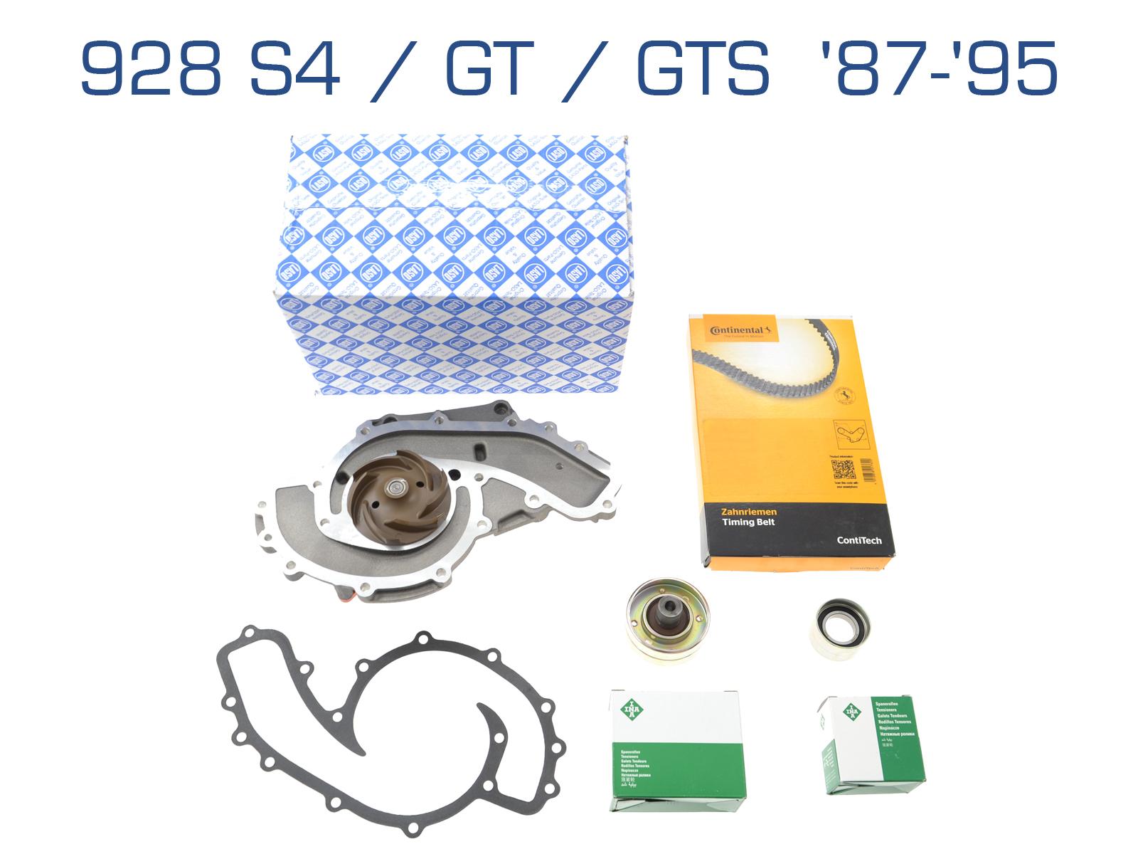 Wasserpumpe + Zahnriemen für Porsche S4/GT/GTS '87-'95