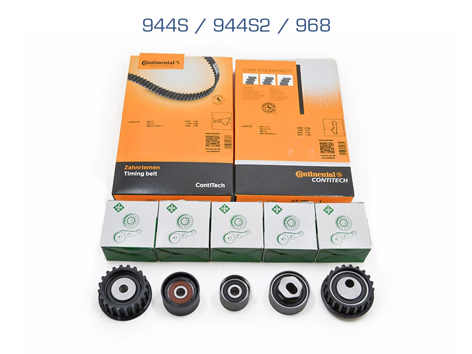Zahnriemensatz für Porsche 944 S/944S/S2/944S2/968 4-Ventiler